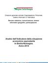Analisi dell'Indicatore della situazione economica equivalente  in Emilia-Romagna.  Anno 2014