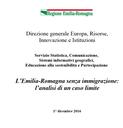 L'Emilia-Romagna senza immigrazione: l'analisi di un caso limite