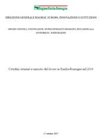 Cittadini stranieri e mercato del lavoro in Emilia-Romagna nel 2016