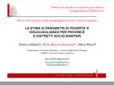 La stima di parametri di povertà e disuguaglianza per province e distretti socio-sanitari