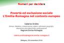 Povertà ed esclusione sociale. L'Emilia-Romagna nel contesto europeo