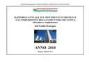 Rapporto annuale sul movimento turistico e la composizione della struttura ricettiva (alberghiera e complementare) - Anno 2010