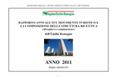 Rapporto annuale sul movimento turistico e la composizione della struttura ricettiva (alberghiera e complementare) - Anno 2011