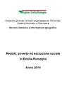 Redditi, povertà ed esclusione sociale in Emilia-Romagna. Anno 2014