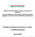Redditi, povertà ed esclusione sociale in Emilia-Romagna. Anno 2015