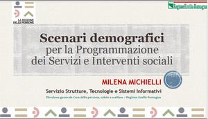 Scenari demografici per la programmazione dei servizi e interventi sociali