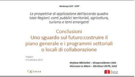 Uno sguardo sul futuro:costruire il piano generale e i programmi settoriali o locali di collaborazione