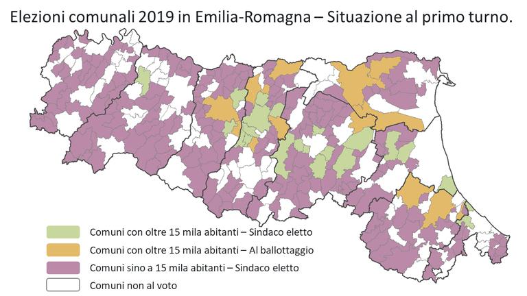 elezioni amministrative 2019 - Comuni al primo turno.png